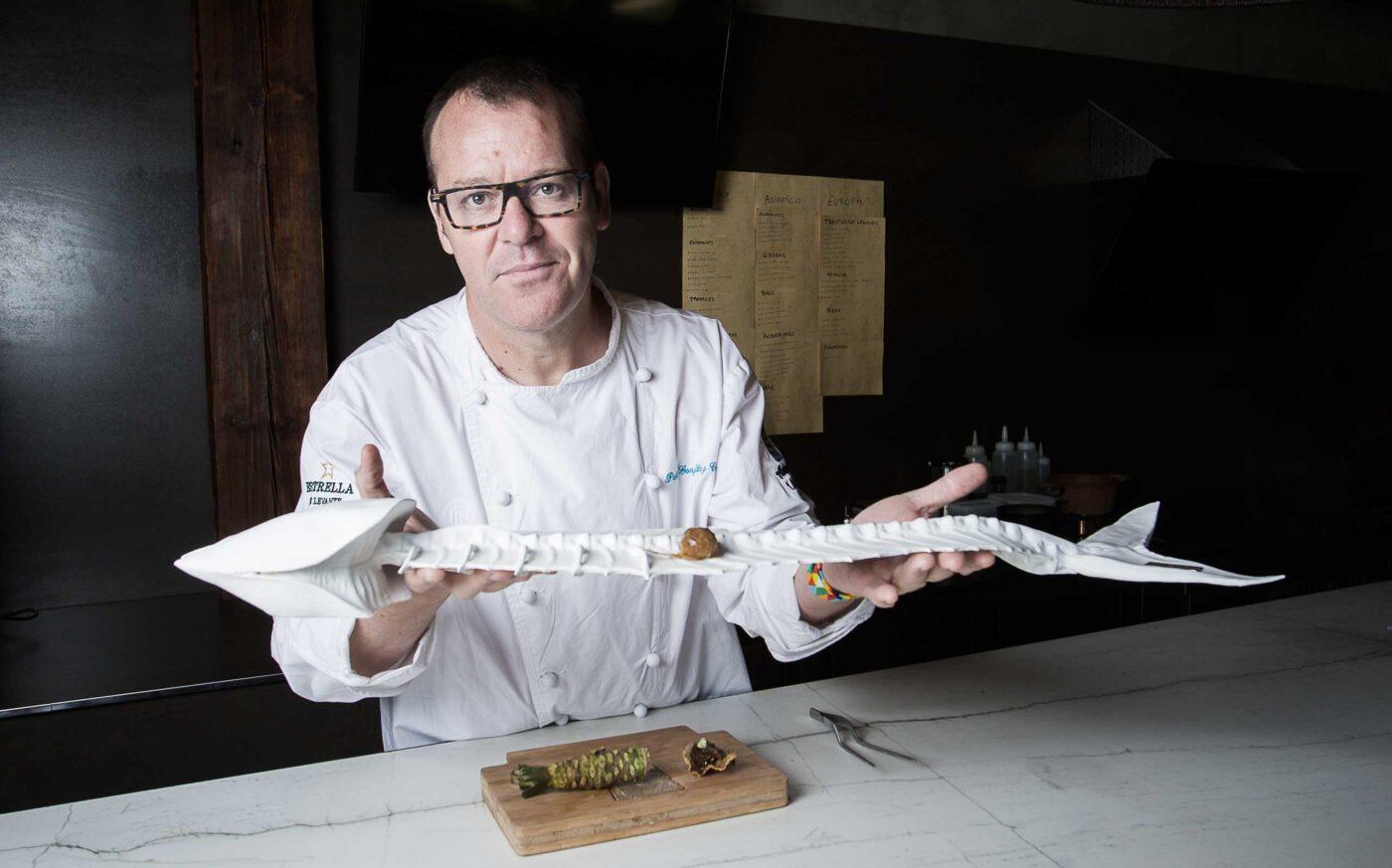 Pablo González, Chef de restaurante Cabaña Buenavista